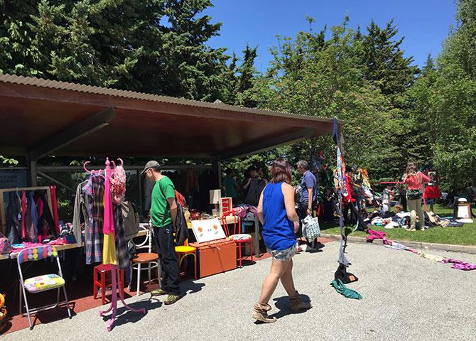 Feria del reciclaje y mercado de segunda mano de Mendillorri