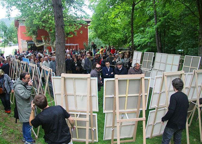 Finalistas del XIX Concurso de pintura al aire libre