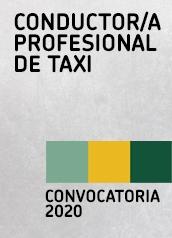 Convocatoria conductor/a profesional taxi 2020